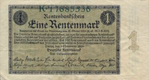 Germany, 1 Rentenmark, P161