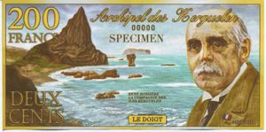 Kerguelen Islands, 200 Franc,