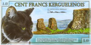 Kerguelen Islands, 100 Franc,