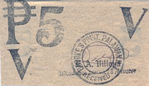 Philippines, 5 Peso, S938