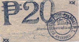 Philippines, 20 Peso, S955
