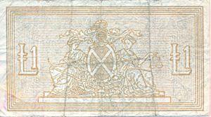 Scotland, 1 Pound, P96b