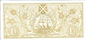 Scotland, 1 Pound, P102b