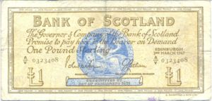 Scotland, 1 Pound, P105b