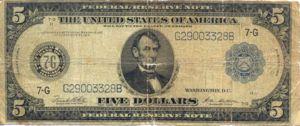 United States, The, 5 Dollar, P359b