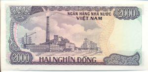 Vietnam, 2,000 Dong, P103a, SBV B31a