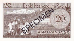 Rwanda, 20 Franc, P6s3