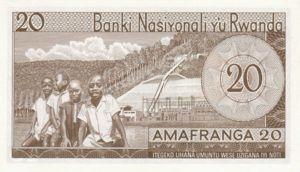 Rwanda, 20 Franc, P6e