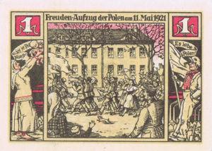 Germany, 1 Mark, 104.5b