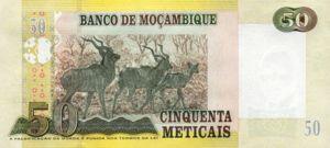 Mozambique, 50 Meticais, P144a