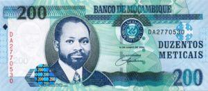 Mozambique, 200 Meticais, P146a
