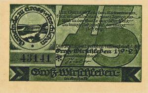 Germany, 75 Pfennig, 486.1