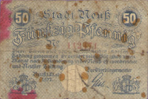 Germany, 50 Pfennig, N25.2c