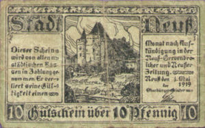 Germany, 10 Pfennig, N25.5a