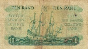 South Africa, 10 Rand, P106b