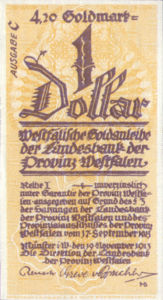 Germany, 4.2 Gold Mark, P300