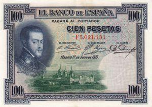 Spain, 100 Peseta, P69c