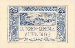 Austria, 20 Heller, FS 26IVa