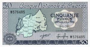 Rwanda, 50 Franc, P7c