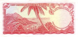 East Caribbean States, 1 Dollar, P13e Sign.8