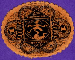 Germany, 4.2 Gold Mark, 105