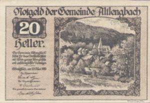 Austria, 20 Heller, FS 33a