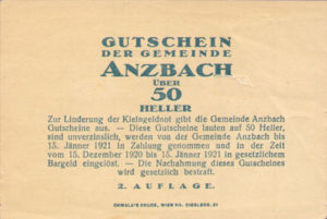 Austria, 50 Heller, FS 48IAf