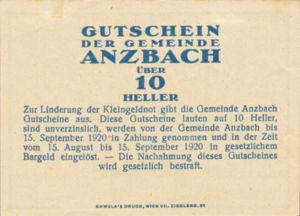 Austria, 10 Heller, FS 48IAa
