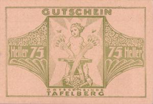 Austria, 75 Heller, FS 1054IIg