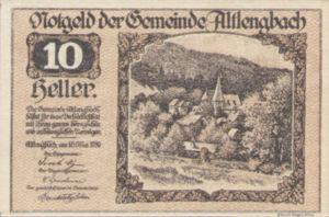 Austria, 10 Heller, FS 33aF