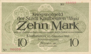 Germany, 10 Mark, 267.04