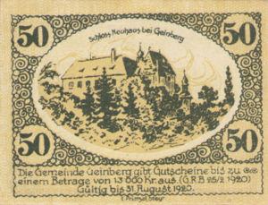 Austria, 50 Heller, FS 228e