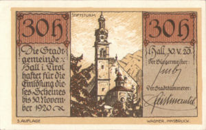 Austria, 30 Heller, FS 342IIc