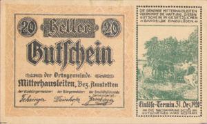 Austria, 20 Heller, FS 620b