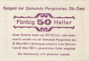 Austria, 50 Heller, FS 732