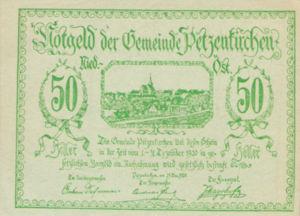 Austria, 50 Heller, FS 740a