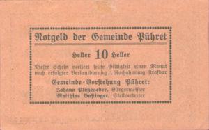 Austria, 10 Heller, FS 791a