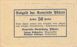 Austria, 50 Heller, FS 791a