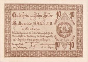 Austria, 10 Heller, FS 914IIIa