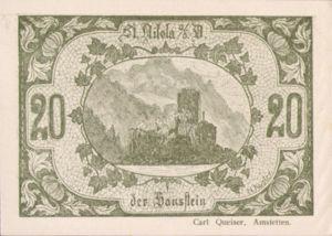 Austria, 20 Heller, FS 914IIIa
