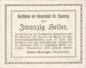 Austria, 20 Heller, FS 900b3