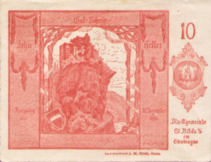 Austria, 10 Heller, FS 914Ia