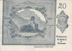 Austria, 20 Heller, FS 914IIb