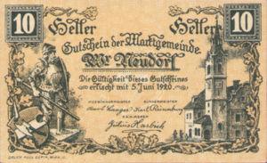 Austria, 10 Heller, FS 1229Ia