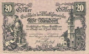Austria, 20 Heller, FS 1229Ia