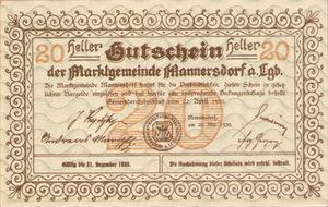 Austria, 20 Heller, FS 577c