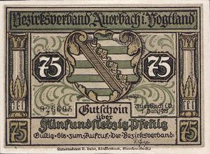 Germany, 75 Pfennig, 53.2