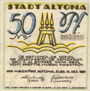 Germany, 50 Pfennig, 30.2