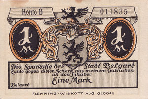 Germany, 1 Mark, 69.1a