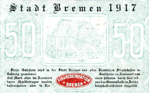 Germany, 50 Pfennig, B85.2